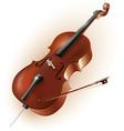 Classical cello vector image vector image