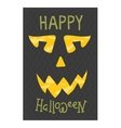 Halloween invitation cards vector image vector image