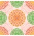 Mandala seamless pattern East motif vector image