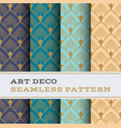 art deco seamless pattern 32 vector image