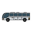 bus sideview icon image vector image vector image