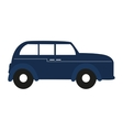 england classic car vehicle isolated icon vector image vector image