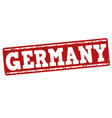 germany grunge stamp vector image vector image