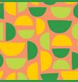 half circles seamless summer background vector image vector image