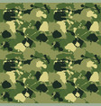 seamless background a camouflage vector image
