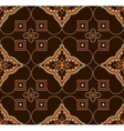 seamless pattern arabesque vector image vector image