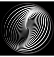 spiral movement vector image vector image