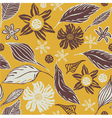 vintage craft wrapping paper vector image vector image