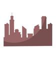 city background symbol vector image