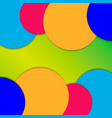 a background image consisting of circles of blue vector image vector image