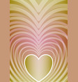 abstract vertical background with heart shape in vector image vector image