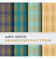 Art Deco seamless pattern 13 vector image vector image
