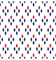 blue red and white dots simple geometric seamless vector image vector image