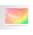 card-pink-green vector image vector image