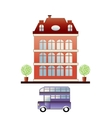 City house vector image
