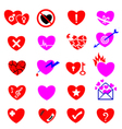 heart icon concept vector image vector image