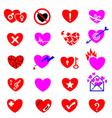 heart icon concept vector image vector image