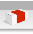 Package white box vector image vector image