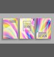 minimal covers design ultraviolet paper vector image vector image