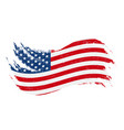national flag of the united states of america vector image