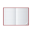 notebooks vector image vector image