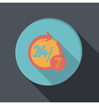 paper flat icon character 24 7 vector image vector image