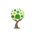 tree abstract logo concept plant nature icon vector image vector image