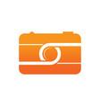 camera photography sign logo vector image
