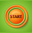 Button Start vector image