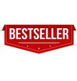 bestseller banner design vector image vector image