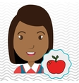 child chat student school vector image vector image