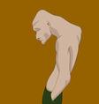 Depressed man vector image vector image