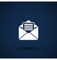 Envelope Icon letter post email envelope vector image vector image