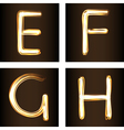 fireshow font vector image