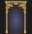 gold classic frame rococo baroque