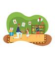 helping people volunteers orphanage social vector image vector image
