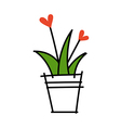 icon plant vector image vector image