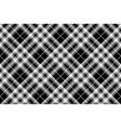 pride of scotland tartan fabric texture pixel vector image vector image