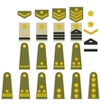 Japanese army insignia vector image vector image