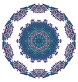 Ornamental round lace indian style Islamic art vector image vector image