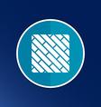 parquet icon button logo symbol concept vector image vector image