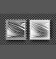 plastic biscuit transparent cookie bar vector image vector image