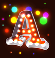 Retro vegas abc vector | Price: 1 Credit (USD $1)