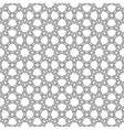 seamless moroccan mosaic vector image vector image