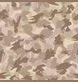 war desert safari camouflage seamless pattern vector image vector image
