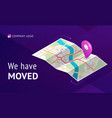 we have moves business relocation vector image
