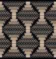 zigzag modern seamless pattern vector image vector image