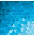 blue tone geometric pattern icon vector image