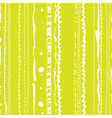 Doodle stripes seamless pattern vector image