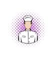 Cook comics icon vector image vector image